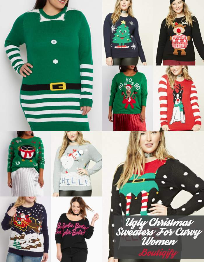 check out our favorite ugly christmas sweaters for plus size women be sure to share your favorites below